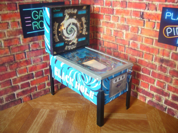Black Hole ~ 1/12th Scale Miniature Pinball Table Model (2)